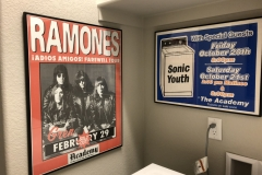 Ramones poster in Commerce City home