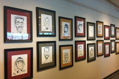 employee caricatures, CO Springs office