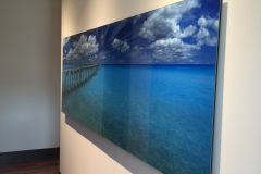 Digitally enhanced photo of beach 1