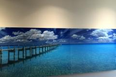 Digitally enhanced photo of beach 2