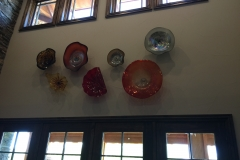 glass art grouping