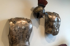 Ben-Hur armor worn by Charlton Heston