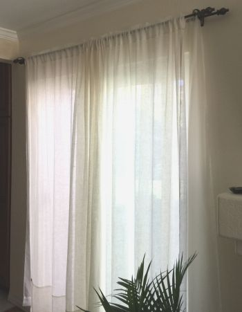 Curtain Installation